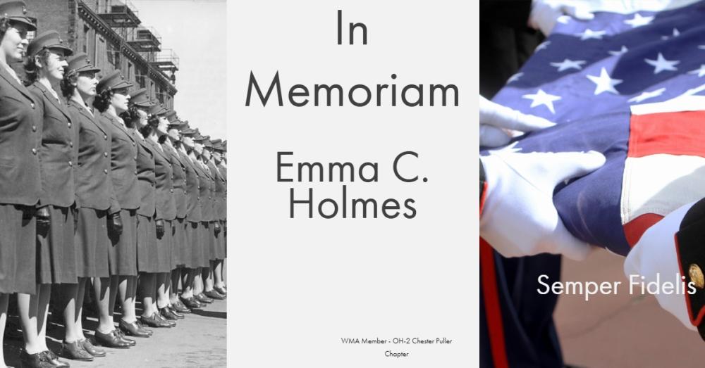Emma C Holmes - OH 2