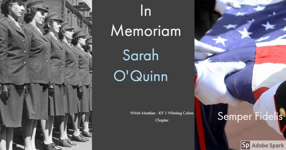 Sara O'Quinn -KY-1