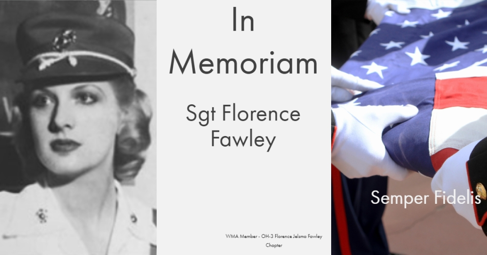 Sgt Florence Fawley - OH-2